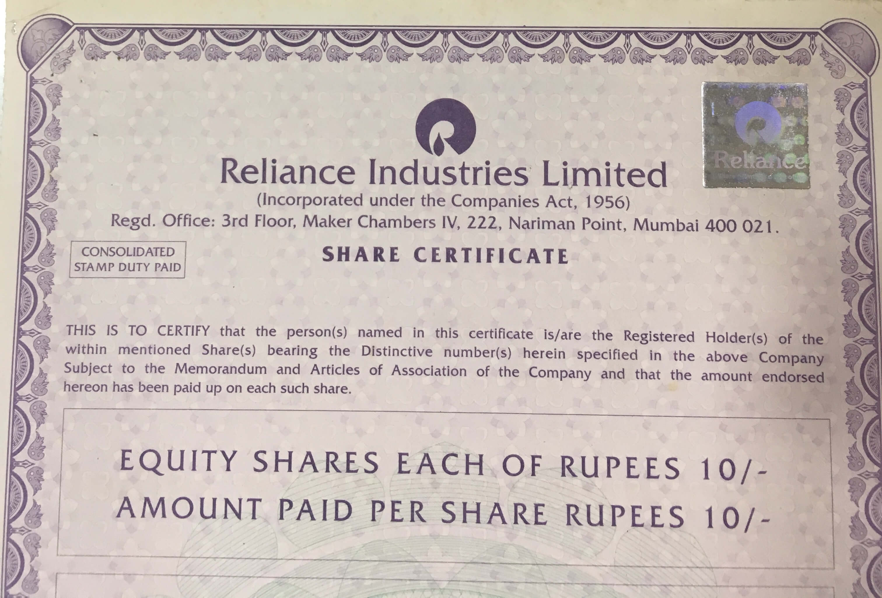 How to get physical shares transferred and converted into demat ?