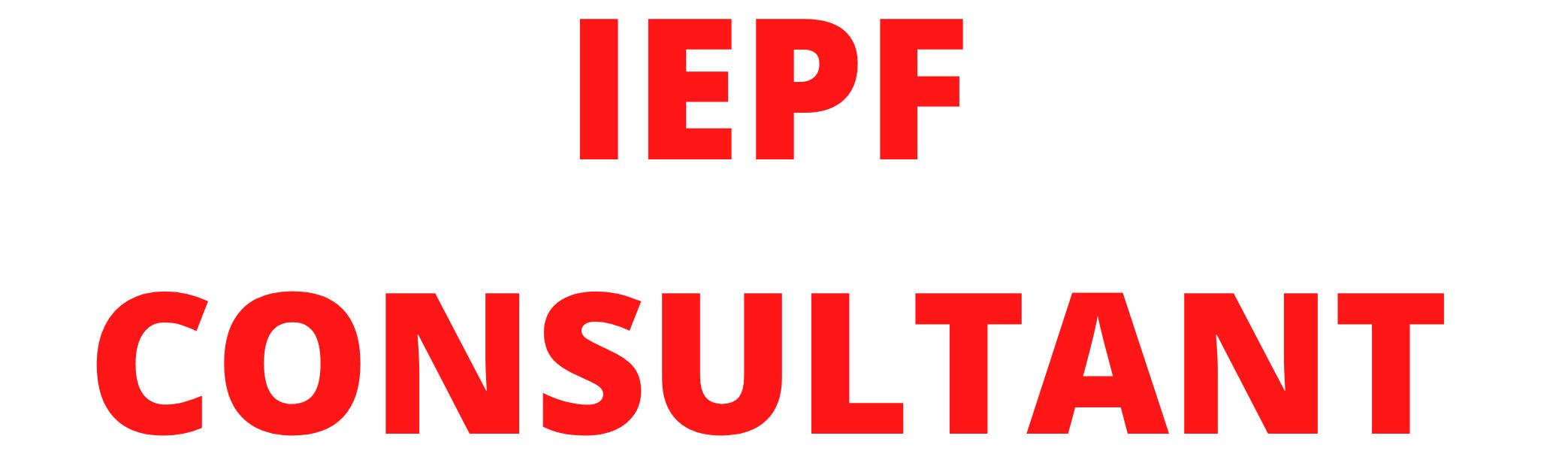 IEPF CONSULTANT